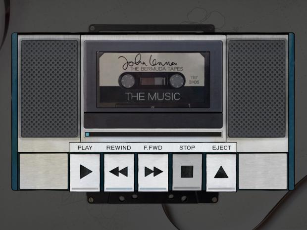 "Captura de la app ""John Lennon: The Bermuda Tapes"""