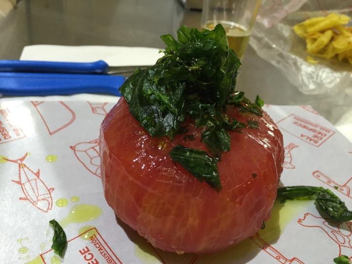 Tomate en Sala de Despiece