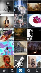 nuevas narrativas: instagram