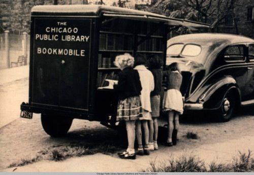 The Chicago Public Library Bookmobile